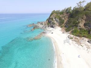 spiaggia, vicino tropea, lido, divertimento, sole, mare,